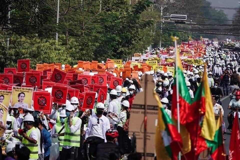 CUỘC ĐẤU TRANH CỦA DÂN TỘC MYANMAR ĐÃ ĐẾN HỒI QUYẾT LIỆT