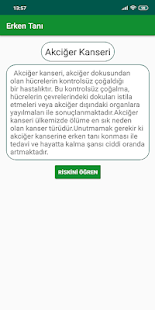 Erken Tanı Screenshot