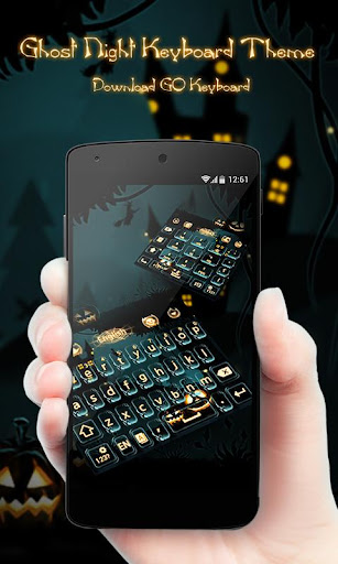Ghost Night GO Keyboard Theme