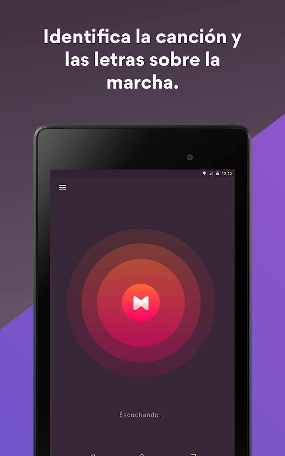 Musixmatch Music Player Letras: captura de pantalla