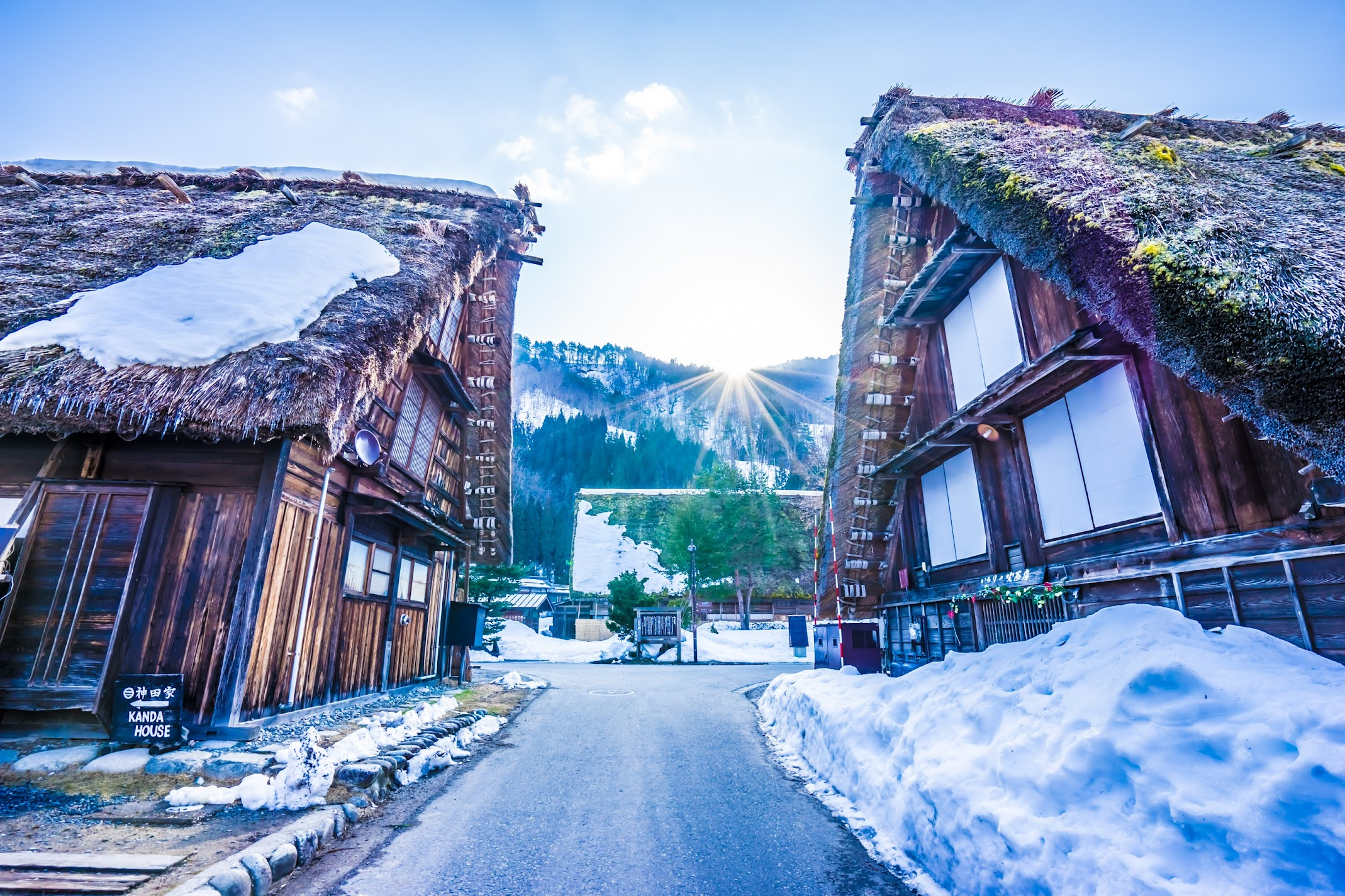 Shirakawa-go morning4