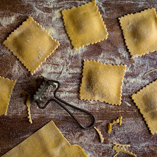 Pumpkin Ravioli With Sage Walnut Pumpkin Butter