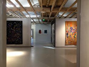 Photo: Les artistes de l'atelier Goubely