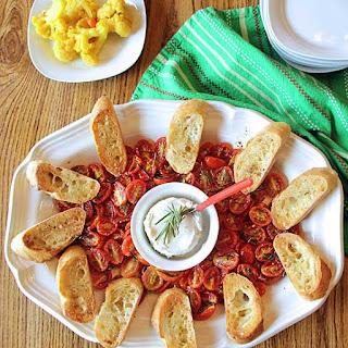 Rosemary Tomato & Goat Cheese Bruschetta