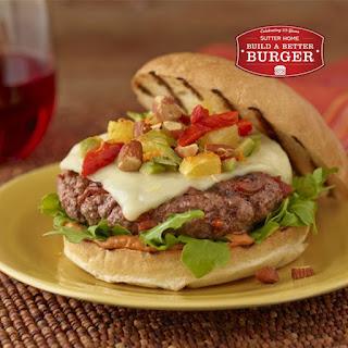 Chorizo Beef Burgers with Smoky Tomato Aioli