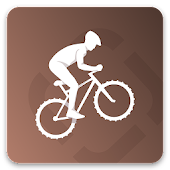 Runtastic Mountain Bike サイコン