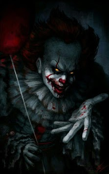 Pennywise The Clown Art Wallpaper Poster