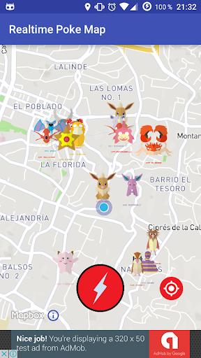 免費下載娛樂APP|Realtime Poke Go Map app開箱文|APP開箱王
