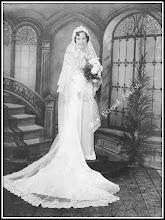 Photo: Fotografia ślubna rudniczanki zamieszkałej w USA po fali emigracji z lat 20 XX wieku