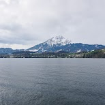 views from Lake Lucerne in Lucerne, Lucerne, Switzerland