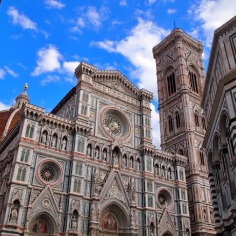 【花の都フィレンツェ】町のシンボルである大聖堂の中は宗教芸術の宝庫