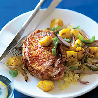 Mango and Paprika Pork Chops