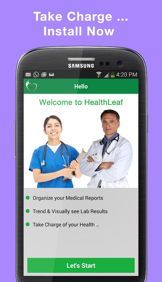 HealthLeaf - Visualize Health- screenshot