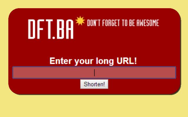 DFT.BA Link Shortener