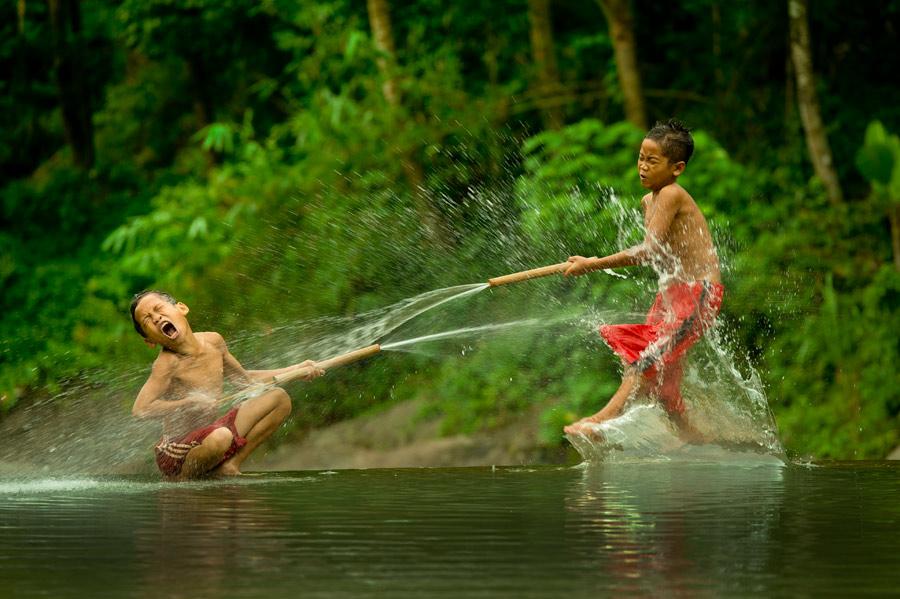 Water Fun by Ismail Ahmad - Babies & Children Children Candids