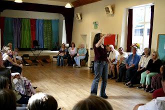 Photo: The Big Sing Workshop with Jo Sercombe © The Priston Festival 2009, photo: Richard Bottle