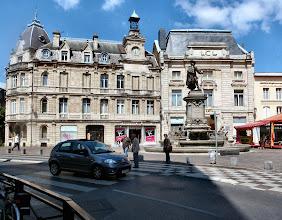 Photo: Die Bank Crédit Lyonnais in Charleville-Mézières