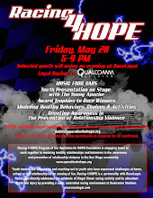 Photo: Racing 4 HOPE is a program of the Operation for HOPE Foundation (www.operationforhope.org) in support of RaceLegal.
