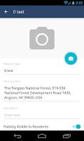 Screenshot of PublicStuff Mobile