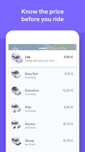Cabify screenshot 8