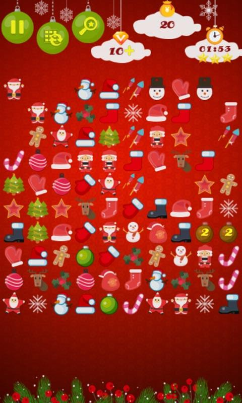 Onet - Connect Xmas- screenshot