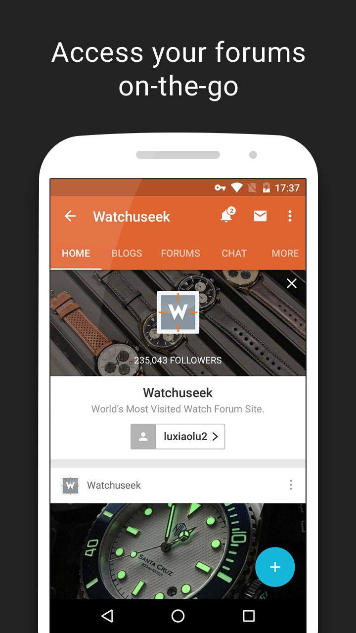 Tapatalk - 100,000+ Forums Screenshot 1
