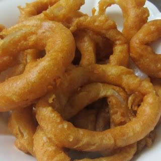 Tempura Onion Rings.