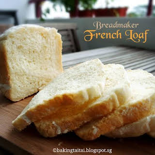 Quick & Easy Breadmaker French Loaf.