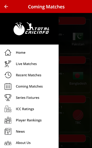 Live Cricket Scores & Updates -Total Cricinfo screenshot 6