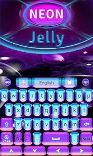Neon-Jelly-GO-Keyboard-Theme 5
