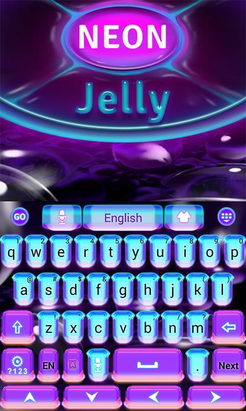 Neon-Jelly-GO-Keyboard-Theme 12