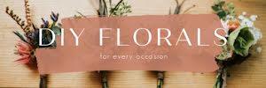 DIY Florals - Email Header Template