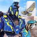 American Hawk Transforming Robot Hero