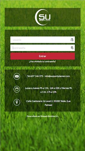 Su Sport Planner screenshot 1