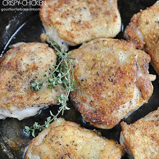 30 Minute Crispy Chicken.