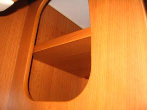 Photo: Ahora midiendo, el soporte delantero, quiero que se quede dentro de este armario, así no se verá.