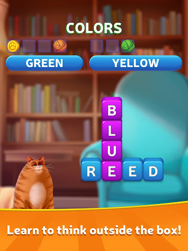 Kitty Scramble: Word Stacks screenshots 9