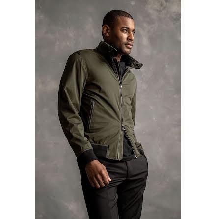 Oscar Jacobson Harrys jacket grön
