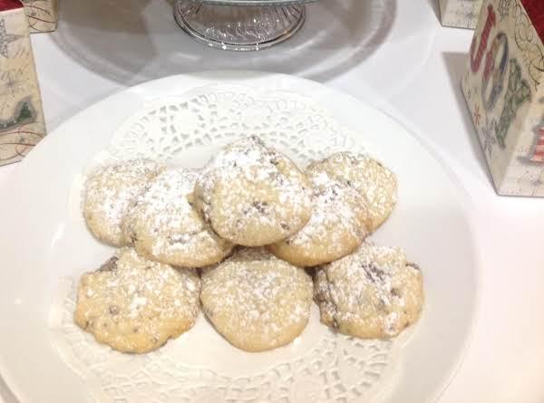 Toblerone Shortbread Cookies Recipe