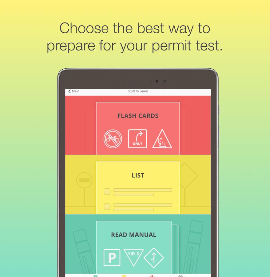 Maryland mva driver license test permit test md screenshot