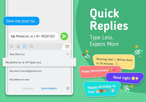 Mint Keyboard - Stickers, Font & Themes 1.07.12.000 Screenshots 8