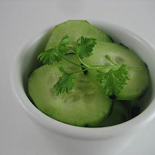 3 minute Thai Cucumber Salad