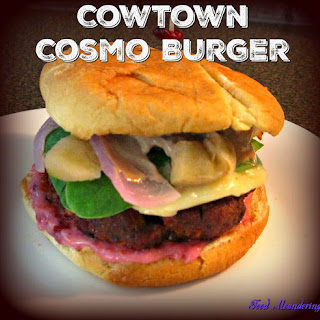 Cowtown Cosmo Burger.