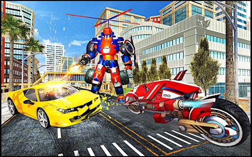 Transmute Robot Superhero