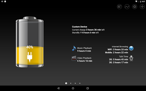 Battery HD screenshot 8