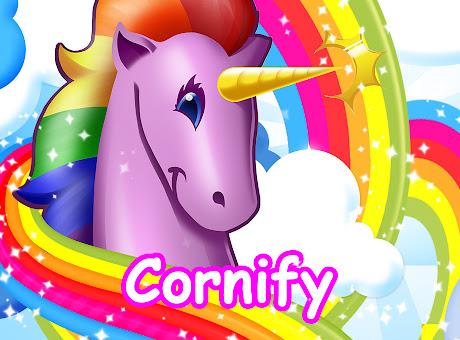 Cornify - Unicorn and rainbow happiness!!!