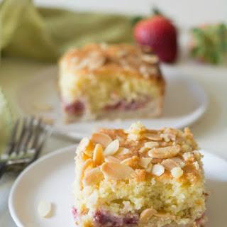 Gluten Free Strawberry Lemon Bakewell Tart Recipe