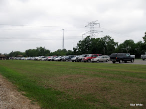 Photo: Lots of cars and lots of train riders.   HALS 2009-0919