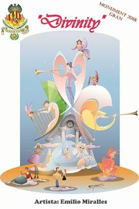 Camino Nuevo de Picaña presentó los bocetos de su Fallas 2018.