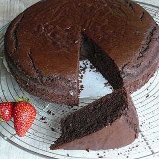 15 Minute Chocolate Cake.